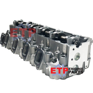 Assembled Cylinder Head for Toyota 1KZT - Valves sit 0.040 below head surface