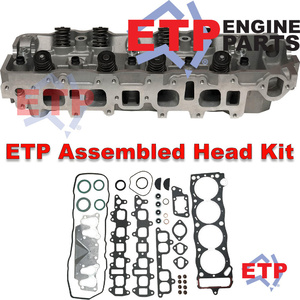 Assembled Cylinder Head Kit for Toyota 2.4L Petrol 22R Supplied with ETP Ultimate VRS