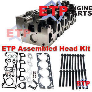 Assembled Cylinder Head Kit for Toyota 3L Supplied with ETP Ulitmate VRS and Head bolts