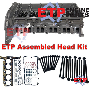 Assembled Cylinder Head Kit suits P5 3.2L Diesel in Ford Ranger and Mazda BT-50  - Includes ETP Ultimate VRS and Head Bolts