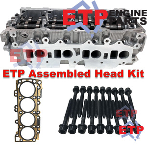 ETP's Assembled Cylinder Head Kit for Nissan Navara 2.5L Diesel YD25 5X0 Late - Complete with Camshafts and Buckets