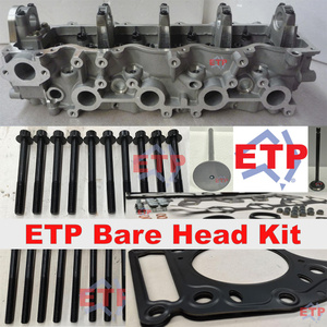 Cylinder Head Kit for Mazda and Ford WL Supplied ETP Ultimate VRS, Valves and Ajusa Head Bolts