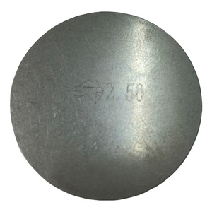 Shims for Toyota 2LMK1, 3L, 5L, 1HZ, 1KZTE and 1KZT - these shims are 37mm in diameter - Range from 2.50mm to 3.10mm in Width